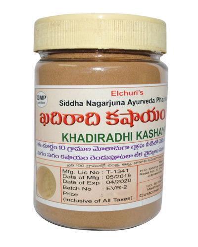 Khadiradi Kashayam